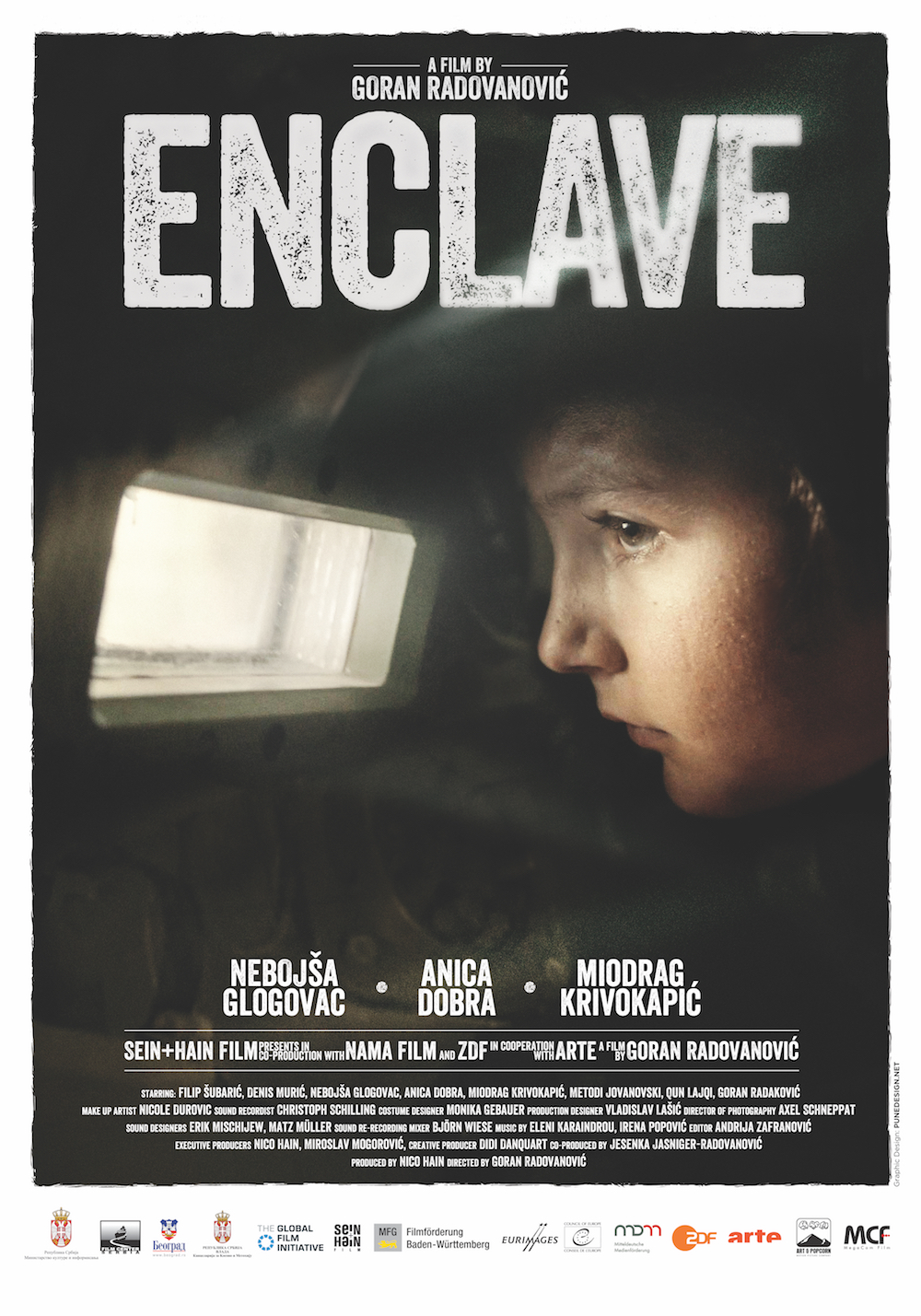 02 - B1 - 100x70cm - Enklava Movie Poster - ENG